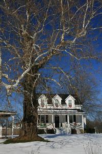 Spout Spring, Virginia Christmas House