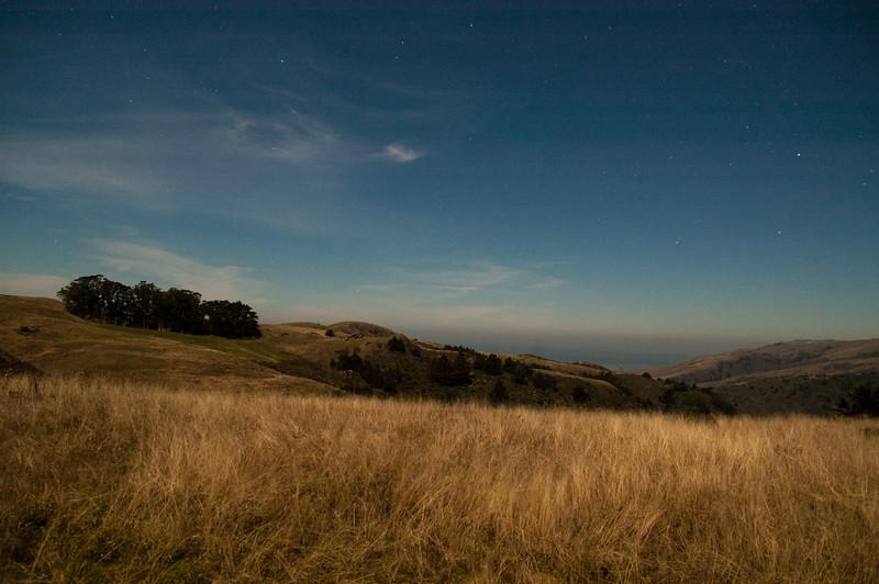 Starlight Landscape #2, Sonoma County, CA