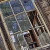 Broken Window<br /> Old Cabin at Feed Mill in Johnson City, Texas