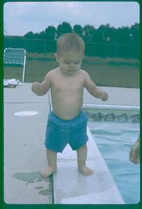 Me at the pool... (circa 1975)