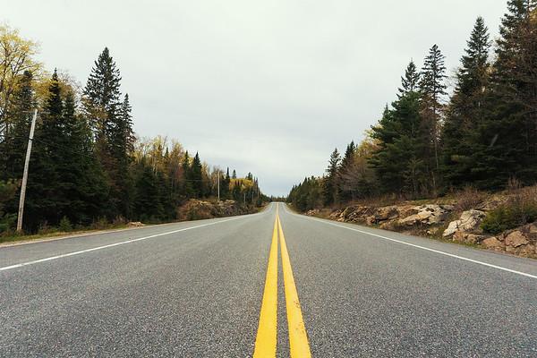 Highway 60. Algonquin Provincial Park