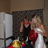 Bride and Mom getting ready to get a picture!