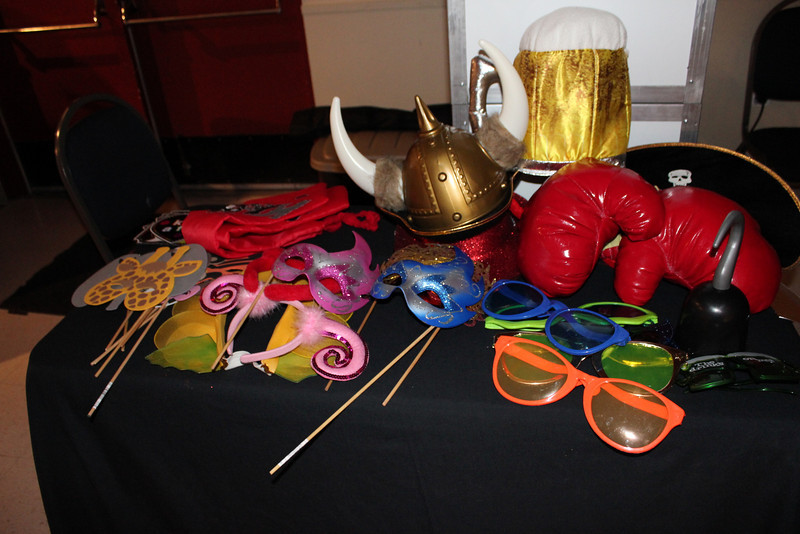 Some of our fun props! They are included with the rentals...