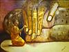 """""""Young Monk Praying""""  - 2005"""