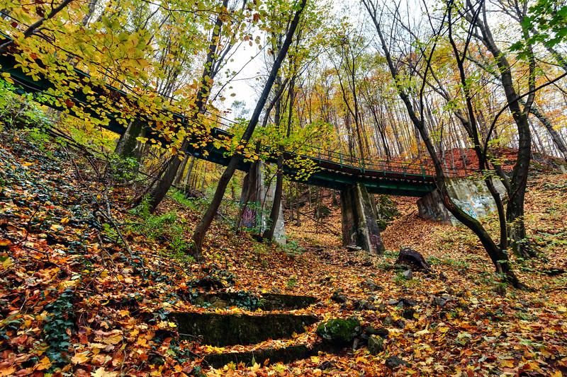 The Forrest Bridge, Lillafüred, Hungary