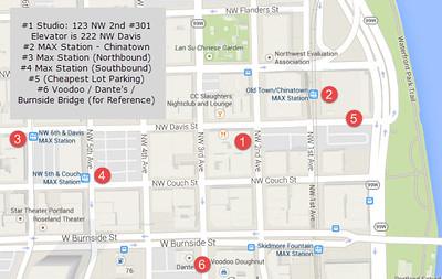 1 Studio Map