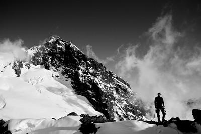 Climbing Mount Baker