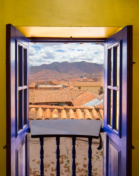 Cusco from a window
