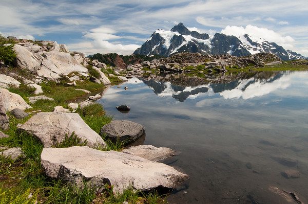 Trailside Tarn at Mt Shuksan