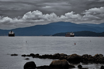 Stanley Park and English Bay, Vancouver, BC, Canada