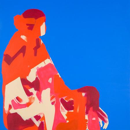 Lady Praying / acrylic on canvas / 76cm x 76cm / original £380 / image 8511