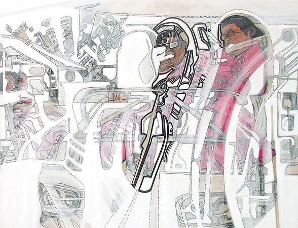 Untitled / acrylic on canvas / 90cm x 90cm / original SOLD / image 7701