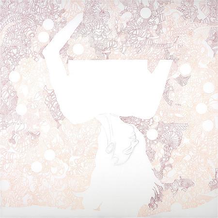 Just The Beginning / mixed media on canvas / 90cm x 90cm / original £450 / image 8382
