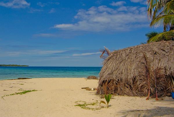 Isla de Perro's unique hut