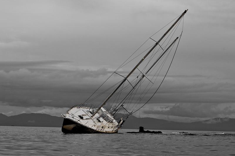Sailboat wreck, el Porvenir