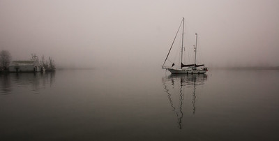 A Lonely Sailor, Steveston BC