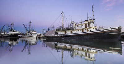 Pre-Dawn Steveston Fishing Boats
