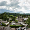 View from Lakes Lodge in Ambleside, Lake District.