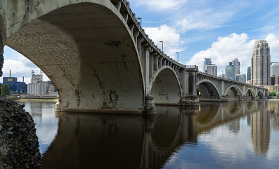 Central Bridge over Gold Medal Flour