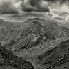 Snowdonia Panoramic 2 bw
