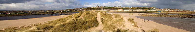 lossiemouth dunes panoramic 1