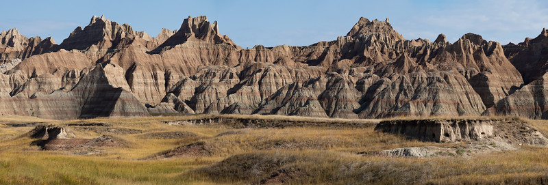 Badlands Three Peaks