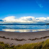 Sandend Bay, Aberdeenshire, Scotland.