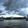 The River Thames & Tower Bridge in London.