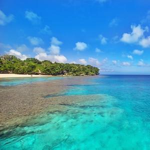 Kiriwina Island reef