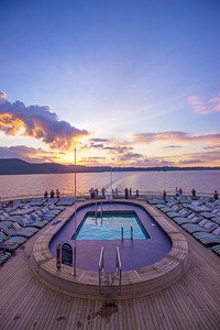 Rabaul Sunset cruise
