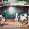 Ganesh Tea Stall - An street-side, open air restaurant (at Varur, Hubli)