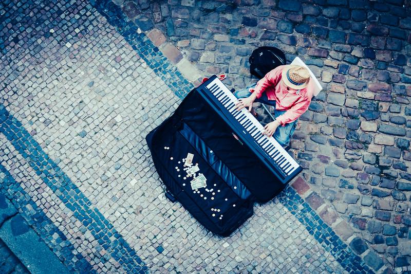 the Pianist, Prague, Czech Republic