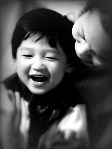 The sweet smile. the warm hug