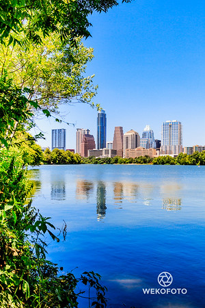 Austin City Skyline, Texas