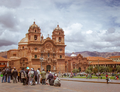 The cathedral Basilica of the Assumption of the Virgin, Cuzco