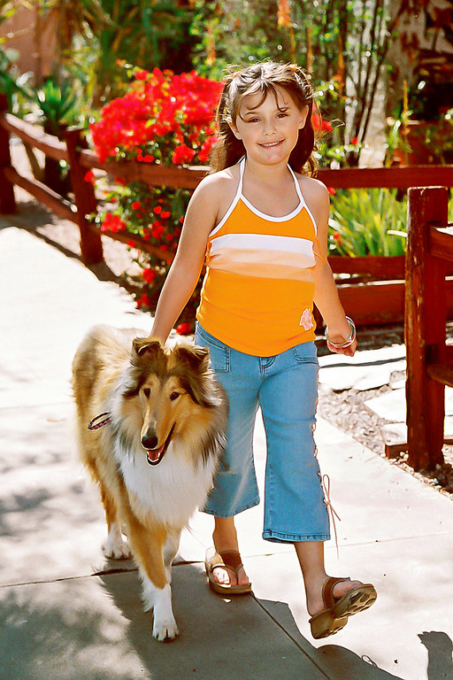 Savannah and her dog were magical. <br /> Personally one of my favorate photos I've ever taken.<br /> Phoenix, Arizona.