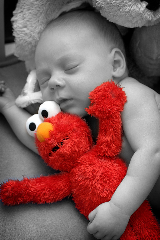 Who can resist Elmo?