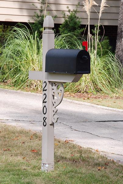 Woodpost box