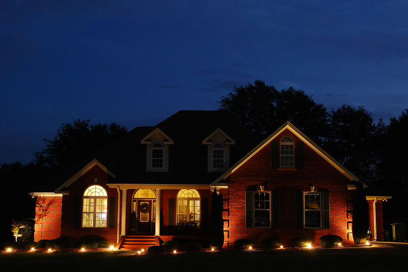 One Dogwood Drive at Night