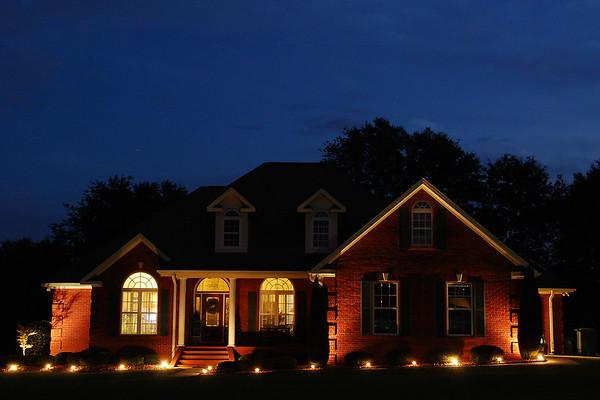 One Dogwood Drive at Night