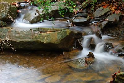 Creek near Vestavia Hills Central school