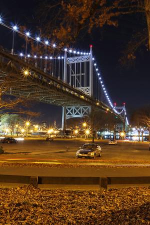 Astoria Bridge at Night