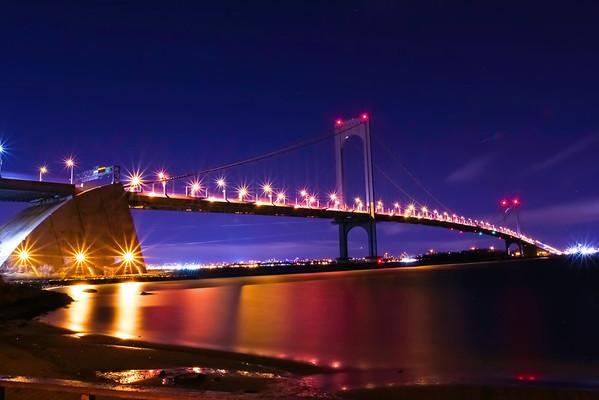 Whitestone Bridge at Night