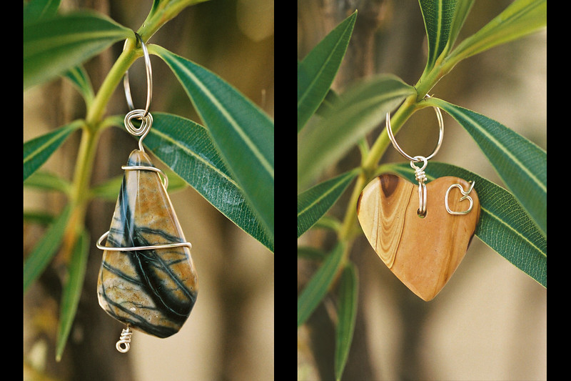 Jewelry that was made with nature specifically in mind.