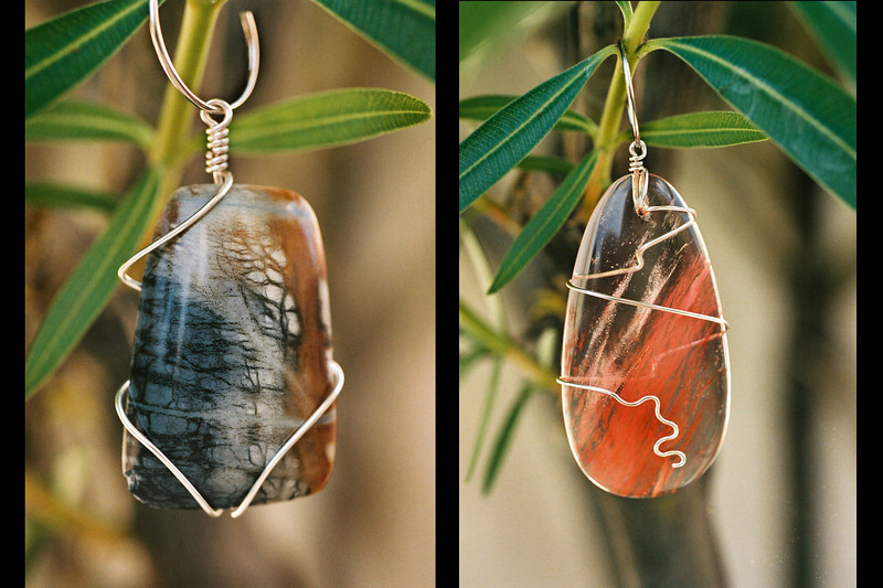 More jewelry with nature in mind.