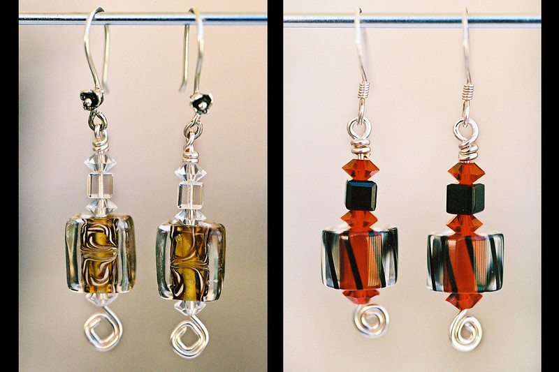 Customized Jewelry made by a college student.