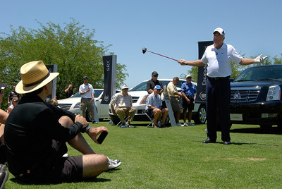 Golf Hall of Famer: Curtis Strange as a guest speaker for Cadillac at Grayhawk Golf Club.