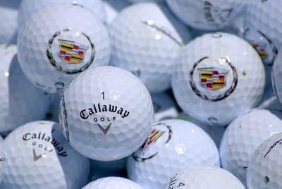 Callaway and Cadillac promotions.