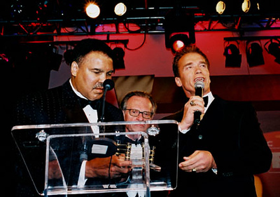 Mohammad Ali and Arnold S. and Larry King.