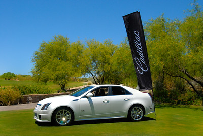 Cadillac Event. Grayhawk Golf Club.